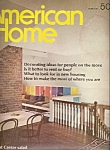 American Home  - Winter 1969
