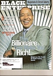 Click here to enlarge image and see more about item M7983: Black Enterprise Magazine-  August 2002