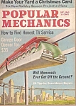 Click here to enlarge image and see more about item M8081: Popular  Mechanics -  December 1963
