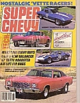 Click here to enlarge image and see more about item M8088a: SUPER CHEVY magazine-  September 1987