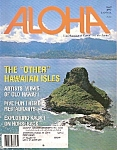 Click here to enlarge image and see more about item M8113: Aloha magaqzine -  April 1997