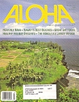Click here to enlarge image and see more about item M8121: Aloha (Hawaii) magazine -  Holiday issue 1995