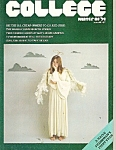 Click here to enlarge image and see more about item M8277: College magazine -  Winter of 1974