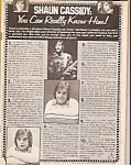 Click here to enlarge image and see more about item M8287: FARRAH FAWCETT Tiger Beat Magazine  - 1972