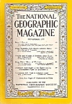 National Geographic magazine -  November 1955