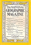 National Geographic magazine- October 1956