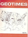 Geotimes  Magazine -  January 1970