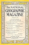 The National  Geogcraqphic magazine-  January 1954