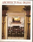 Click here to enlarge image and see more about item M8349: Architectural digest - 218 complete paes.