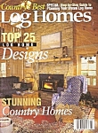 Click here to enlarge image and see more about item M8351: Country's best Log Homes magazine -  May 2000