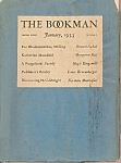 Click here to enlarge image and see more about item M8361: The Bookman booklet/magazine -  January 1933