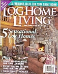 Click here to enlarge image and see more about item M8397: Log Home Living magazine -  October 2003