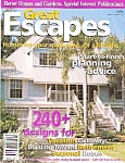 Click here to enlarge image and see more about item M8398: Great escapes homes magazine -  1999