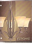 Click here to enlarge image and see more about item M8401: Thomas Lighting catalog 2008-2009