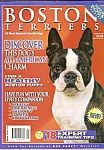 Click here to enlarge image and see more about item M8403: Boston Terriers Magazine  - 2003