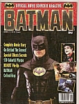 Click here to enlarge image and see more about item M8404: Batman magazine -    1989=