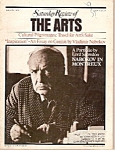 Click here to enlarge image and see more about item M8407: Saturday Review of the Arts magazine - January 1973