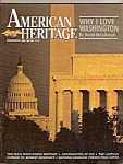 American Heritage magazine-  April - May 1986