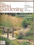 Fine Gardening magazine -  October 2000