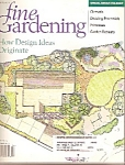 Taunton's Fine Gardening magazine -  April 2000