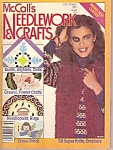 McCall's Needlework  & crafts magazine -  July/August 1