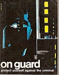 Click here to enlarge image and see more about item M8551: On Guard magazine -=  copyright 1970