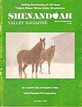 Shenandoah Valley magazine -  Winter-Holiday issue 1979