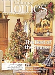 Click here to enlarge image and see more about item M8655: Colonial Homes -  Holiday 1999