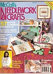Click here to enlarge image and see more about item M8731: McCall's needlework and crafts - June 1990