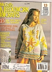 Click here to enlarge image and see more about item M8733: McCall's Needlework and crafts - June 1991