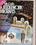 Click here to enlarge image and see more about item M8737: McCall's Needlework &  crafts magazinen -  December 199