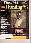 Click here to enlarge image and see more about item M8740: Virginia Hunting - 1987