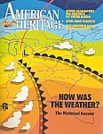 American Heritage magazine -  June/July 1986