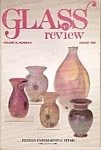 Glass review mnagazine - August 1986