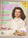 McCall's Needlework & crafts ad April 1990