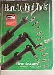 Hard to find tools catalog - Brookstone -= Winter 1990