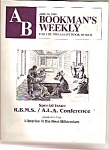 Bookman's weekly catalog -  June 1, 1999
