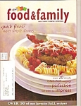 Kraft Food & family quick fixes -    Fall 2005