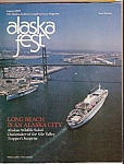 Click here to enlarge image and see more about item M9201: Alaska fest magazine-   August 1982