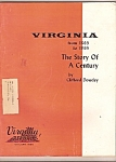 Click here to enlarge image and see more about item M9206: Virginia-[ the story of a century - January 1965