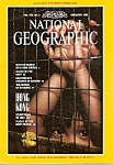 National Geographic magazine -  February 1991