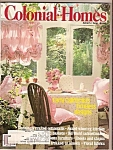Click here to enlarge image and see more about item M9388: Colonial Homes -  August 1988