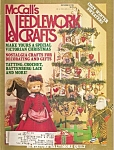 Click here to enlarge image and see more about item M9453: McCall's Needlework & crafts -  December 1986