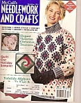 Click here to enlarge image and see more about item M9513: McCall's Needlework and crafts -  December 1991