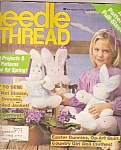 Needle & thread - March-April 1985