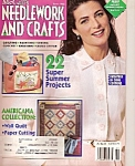 Click here to enlarge image and see more about item M9515: McCall's Needlework and craft - June 1992