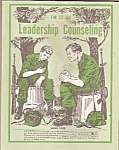 Leadership counseling - June 1985