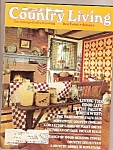 Click here to enlarge image and see more about item M9620: Country Living -  January 1984