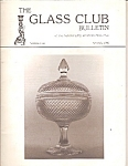 Click here to enlarge image and see more about item M9648: The Glass Club bulletin -  Spring 1990