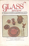 Click here to enlarge image and see more about item M9656: Glass Review -  December 1987